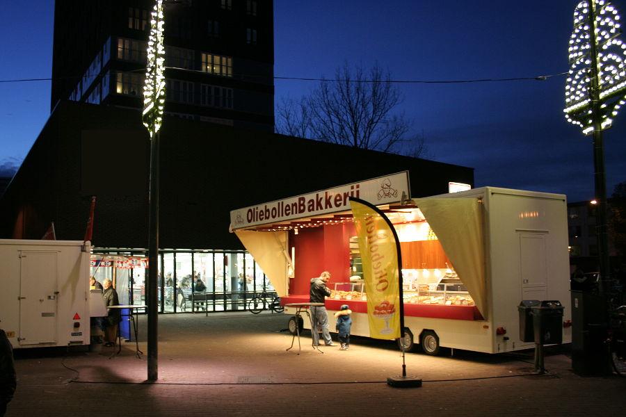Viskraam & Oliebollenkraam in Vinkhuizen - Groningen